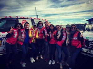 FEC est ravi de sponsoriser l'équipage «les Singulières» pour le rallye Aicha des Gazelles 2018 1